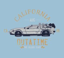Out A Time Kids Tee