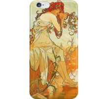 Alphonse Mucha - Summer iPhone Case/Skin
