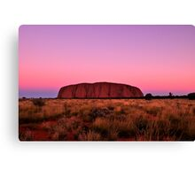 Ayers Rock Sunset  Canvas Print