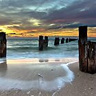 Jetty - Clifton Springs Victoria by Graeme Buckland