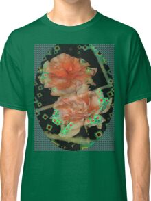 Diamond studded orange roses Classic T-Shirt