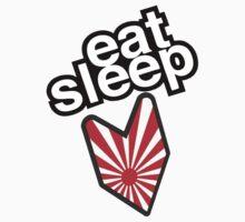 EAT SLEEP JDM Kids Tee
