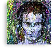 Adam Ant Pop Art by LeahG Canvas Print