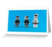 One of you is a spy! Greeting Card
