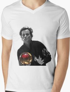 Kingpin - Big Ern Bowl Mens V-Neck T-Shirt