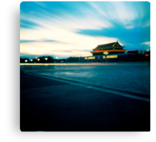 Tian An Men Square  Canvas Print