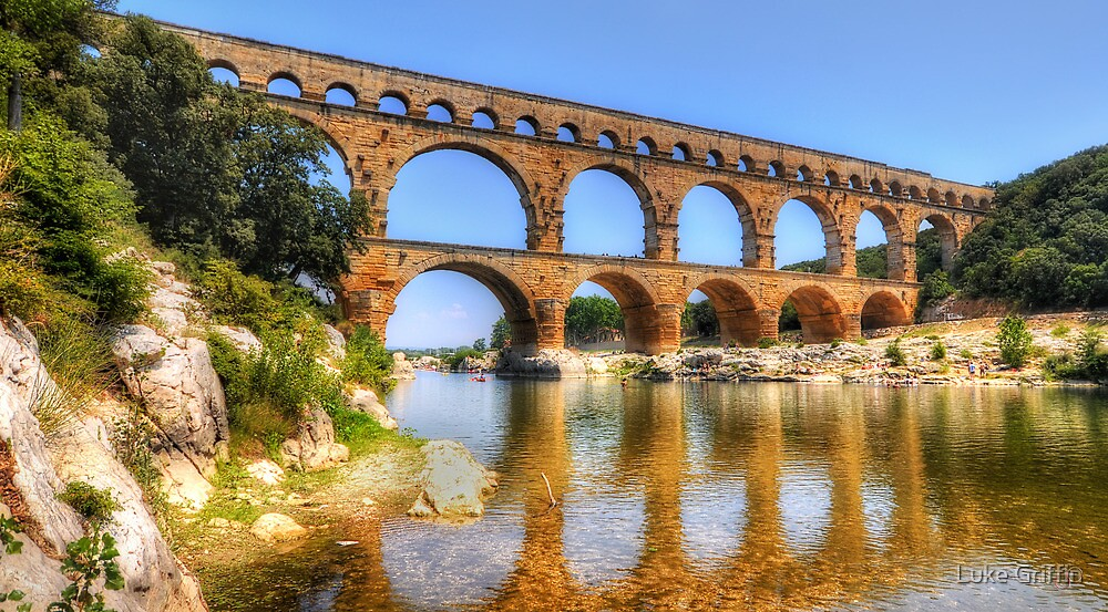 Pont Du Gard by Luke Griffin