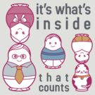 It's what's inside that counts by shinykins