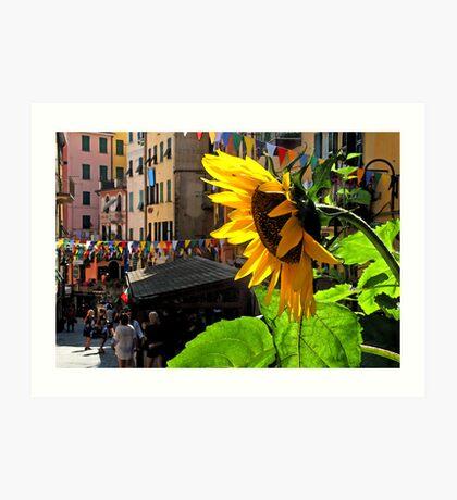 Riomaggiore - Cinque Terre, Italy Art Print