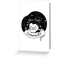 The Lost Cosmonauts Greeting Card