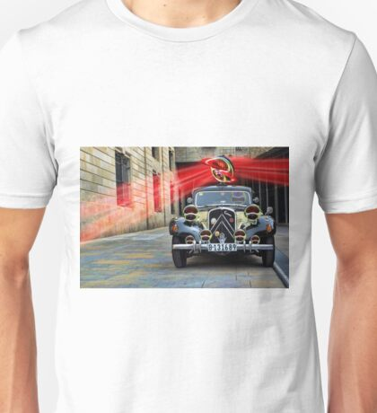The Over Reflective Police Car Unisex T-Shirt