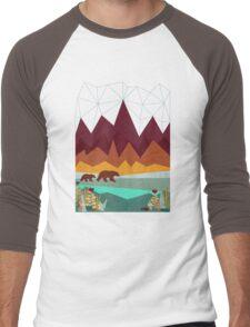 Peak Men's Baseball ¾ T-Shirt