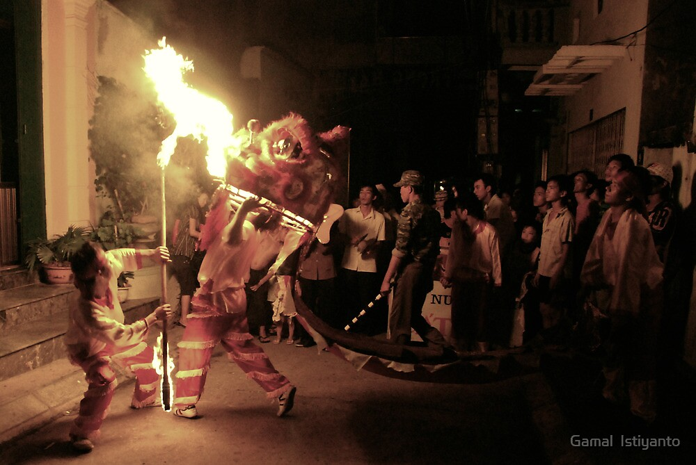 Dragon Fire by Gamal  Istiyanto