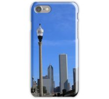 Lamp Posts and Buildings iPhone Case/Skin