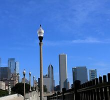 Lamp Posts and Buildings by WeeZie