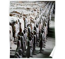 China - Terra Cotta Warriors Poster