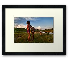 True Love (India) Framed Print