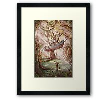 Fisherman of the Forest Framed Print