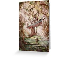 Fisherman of the Forest Greeting Card