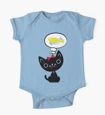 Hungry Cat One Piece - Short Sleeve