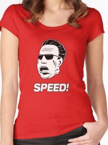 """Jeremy Clarkson """"Speed"""" Top Gear Women's Fitted Scoop T-Shirt"""