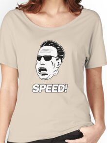 "Jeremy Clarkson ""Speed"" Top Gear Women's Relaxed Fit T-Shirt"