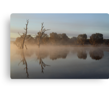 Tranquility - Lake *Nillahcootie.* Canvas Print