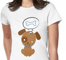 Hungry Dog Womens Fitted T-Shirt