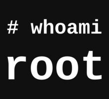 whoami root - White on Black for System Administrators One Piece - Long Sleeve