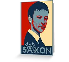 Saxon for PM-Clean Version Greeting Card