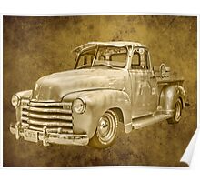 classic old truck Poster