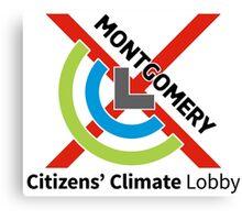 Montgomery Citizens Climate Lobby (diagonal) Canvas Print