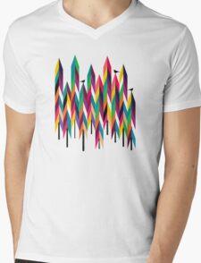 Pinetrees Mens V-Neck T-Shirt