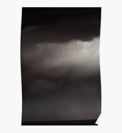 Dust Storm at Horseshoe Bend, Page, AZ - I Poster