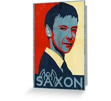 Saxon for PM Greeting Card