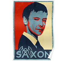 Saxon for PM Poster