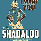 Shadaloo Wants YOU! by ninjaink