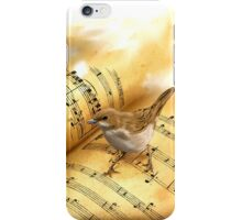 """Why the nightingale sings?"" iPhone Case/Skin"