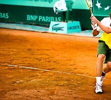 Roberto Carballes Baena @ Roland Garros by johanlb