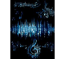 Music Waves Photographic Print