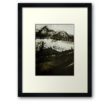 cloud in the valley... Framed Print