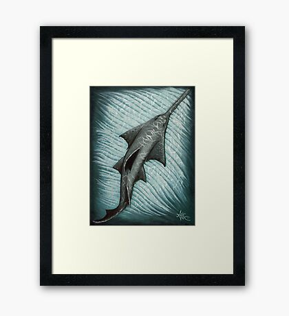 Sawfish Framed Print
