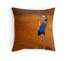 Agnieszka Radwańska @ Roland Garros Throw Pillow