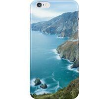 Slieve League sea cliffs iPhone Case/Skin