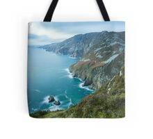 Slieve League sea cliffs in Co. Donegal Tote Bag