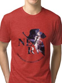 neon genesis evangelion rei ayanami anime manga shirt Tri-blend T-Shirt