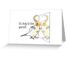 A Healthy Self-Esteem Greeting Card