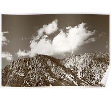 Mountainside near Lake Tahoe Poster