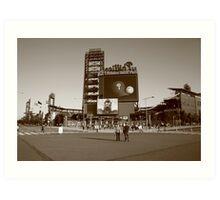 Citizens Bank Park - Philadelphia Phillies Art Print