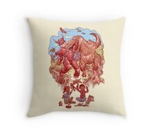 Role playing Throw Pillow
